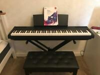 Yamaha P115 Digital Piano + Stand and Seat