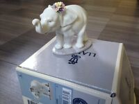 Lladro Porcelain Elephant Figurine - Excellent condition, as new.