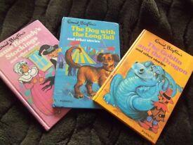 SALE Three vintage Enid Blyton books - HB - see photos/description for titles