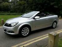 VAUXHALL ASTRA TWIN TOP SPORT 1.6CC CONVERTIBLE. 2007 MODEL TEL.07377926604..