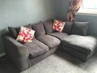 Grey corner suite