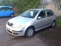 2006 SKODA FABIA 1.4 PETROL, LOW MILES, SERVICE HISTORY WITH CAMBELT REPLACE HPI CLEAR