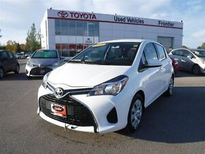 2015 Toyota Yaris LE TOYOTA CERTIFIED PRE-OWNED