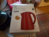 Brand new toaster and kettle