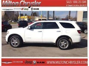 2015 Dodge Durango Citadel AWD Leather Sunroof 8.4 Navigation