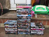 Job lot of DVDs action/thriller