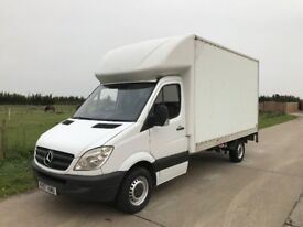 mercedes luton van with tail lift