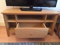 John Lewis Oak Corner TV table