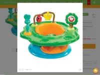 Summer Infant Forest Friends 3 Stage Super Seat. Includes integrated snack trays and 4 playful toys