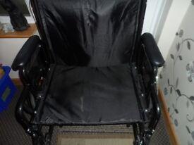 z-tec heavy duty wheelchair