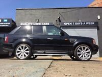 LAND ROVER RANGE ROVER SPORT 4.2 SUPERCHARGED LPG GAS CONVERTED. 2005 55