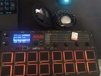 Akai MPX 16 + 32GB SD Card + Mogees Pro