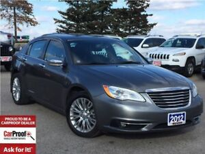 2012 Chrysler 200 *LTD*LEATHER*NAVIGATION*