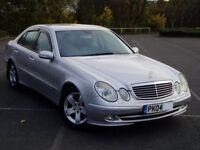 2004 Mercedes E320 Cdi Avantgarde Auto. Main Dealer History. Mot March. 104000 Miles. SatNav Leather