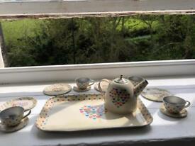 Tin tea time playset
