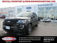 2016 Ford Explorer Sport 4WD  DEMO MOONROOF WITH FREE WINTER SAF