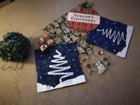 Christmas bits and pieces free for collection