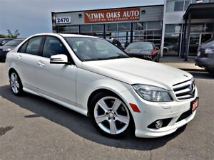 2010 Mercedes-Benz C-Class C300 4MATIC - LEATHER - PARK ASSIST -