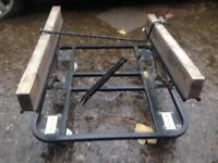 Pool table trolley