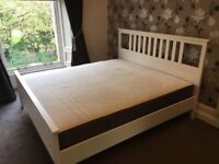 Superking IKEA hemnes bed & mattress