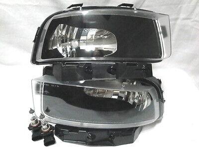 For 2005-2012 Chevrolet Corvette Fog Light Lamp Assembly One Pair W/2 Bulbs New