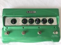 Line 6 DL4 delay pedal - guitar effects pedal (with original box and power supply)