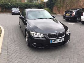 BMW 320d MSport Plus 3 series coupe 2012 Sat Nav LCI