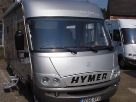 Hymer Motorhome B525 2006 Sprinter Chassis 3 berth very rare excellent condition