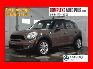 2013 Mini Cooper Countryman S ALL4 AWD *Cuir,Toit pano.