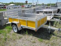 2015 Mission Trailers 5x8 Aluminum Utility Trailer
