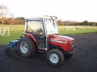 Massey Ferguson 1250 4WD Diesel Compact Tractor 34hp No Vat