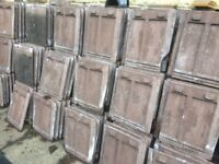 Redland Stonewold roof tiles approx 800 (including some ridge tiles)
