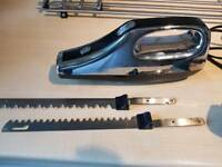 Cookworks 2 blade Electric Knife - Black & Silver - Excellent Condition - Hardly Used