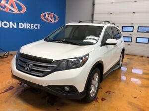 2014 Honda CR-V Touring TOURING! LEATHER/ NAVI/ SUNROOF