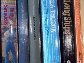 Hundreds of books, novels, fiction, history, non-fiction, job lot or singles.