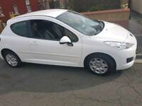 Immaculate White Peugeot 207 1.4 Petrol 12plate. Low Low miles at 22.5k 3dr. Cheap