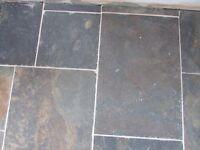 Rustic Multi Coloured Natural Slate Floor Tiles