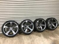 "20"" TTRS alloy wheels AUDI brand new"
