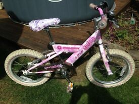 Raleigh bicycle suit age 5-7 years approx. Working order, good condition - Collect Macclesfield