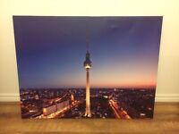BARGAIN: Canvas Print of Berlin Skyline