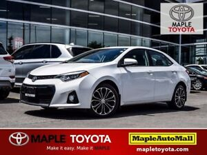 2014 Toyota Corolla S - TECH PKG. - NAVIGATION FULL LEATHER MOON
