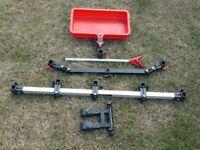 Octoplus Multifit 900 Multibeam, Umbrella Bridge/Pole support, Deep Swivel Tray & Brolly Double Arm
