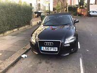 Audi A3 convertible manual E-power roof parking sensors alloy wheels 1.6 tdi mot 62000 miles