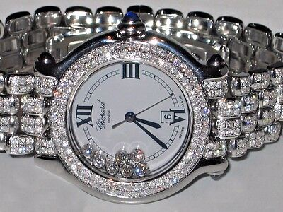 Womens Chopard Happy Sport Diamonds Everywhere