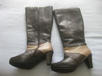 """""""Legroom"""" brand dark brown boots - size 5 - new"""