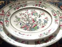 2 Vintage/Antique Serving Platters/Dishes Johnson Bros.