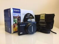 Olympus XZ-1 Digital Camera - Black (inc. Lowepro case and 8GB memory card)