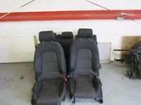 AUDI A3 8P 5 DOOR HATCH ( SPORTBACK SE ) SEATS WITH HEADRESTS AND AIRBAGS 04-12