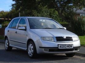 Skoda Fabia 1.2 Comfort 5dr£700 p/x welcome 12 MONTHS MOT,LOW TAX & INSURE