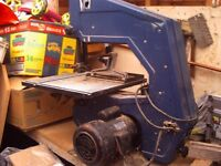 band saw for spares or repairs with WORKING INDUCTION MOTOR